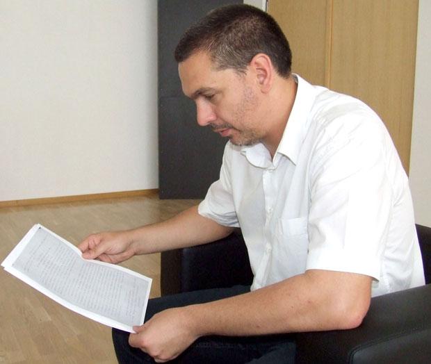 Direktor Arhiva Novog Sada Petar Đurđev