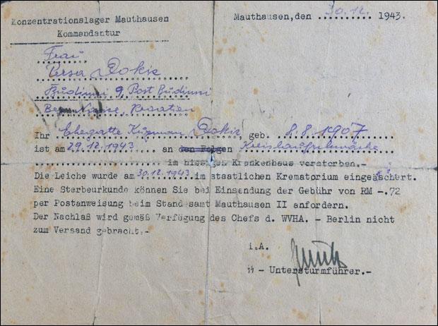 "Dokument iz ""Mauthauzena"""