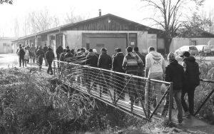 Izbjeglice iz zemalja bivše SFRJ zamijenili su nesretnici s Bliskog Istoka Foto: azilsrbija.rs
