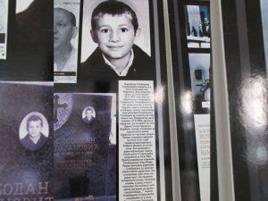 Izložba Podrinje nekažnjeni zločini Foto: SRNA