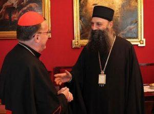 Kardinal Bozanić i vladika Porfirije