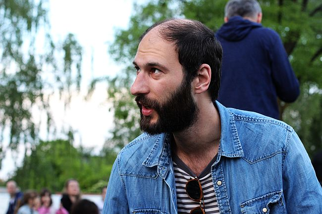 Marko Pogačar u trenucima dokolice (FOTO: Ladislav Tomičić)