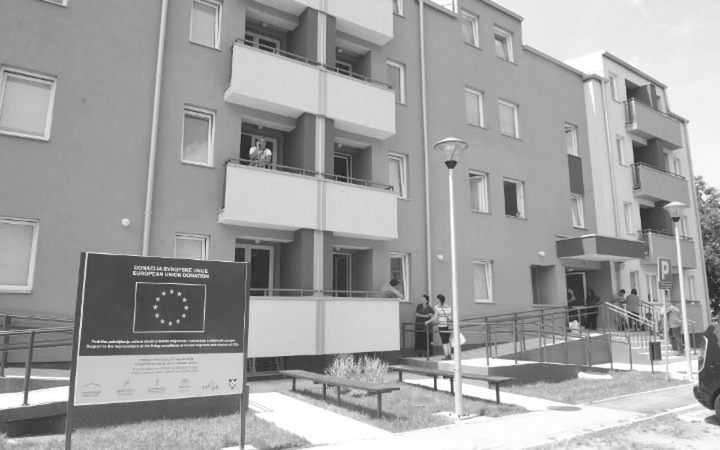 Nova zgrada za izbjeglice u Kamendinu