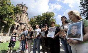 Porodice na obeležavanju Dana nestalih u Beogradu