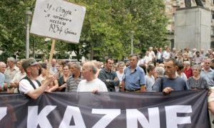 Zaboravljeni: Protest Krajišnika u Boegradu Foto: A.Čukić