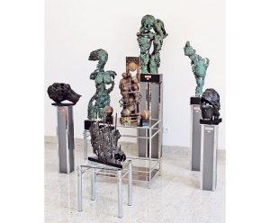 Skulpture Katarine Tripković i Ljubiše Mančića (Foto: K. T.)