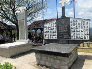 Spomen obilježje u srebreničkom selu Zalazje Foto: SRNA