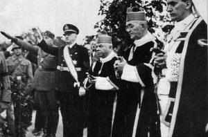 Stepinac sa ustašama i fašistima