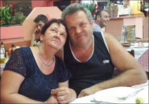 Veljko Dujović ponovo sa suprugom Gordanom