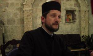 Koreni mržnje: Rektor Gojko Perović  Foto: youtube.com/Manastir Podmaine - PROPOVEDI