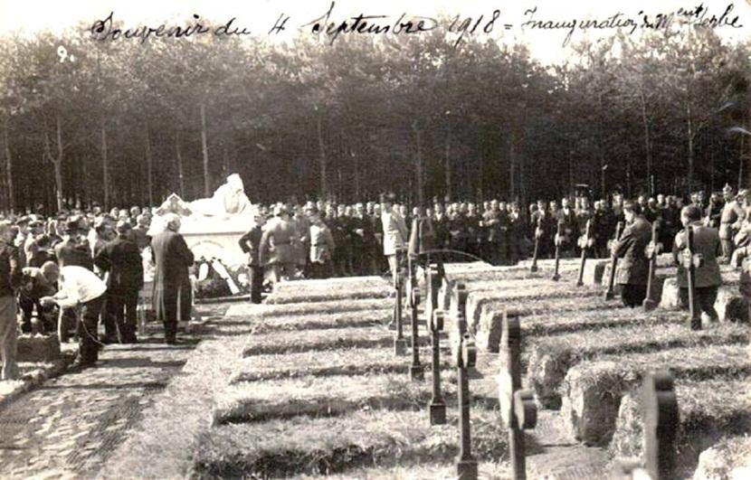 Spomenik koji su Nemci podigli Srbima u Prvom svetskom ratu