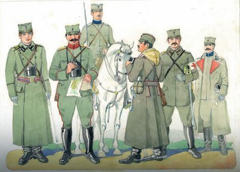 Uniforme srpske vojske Foto: Promo / Promo