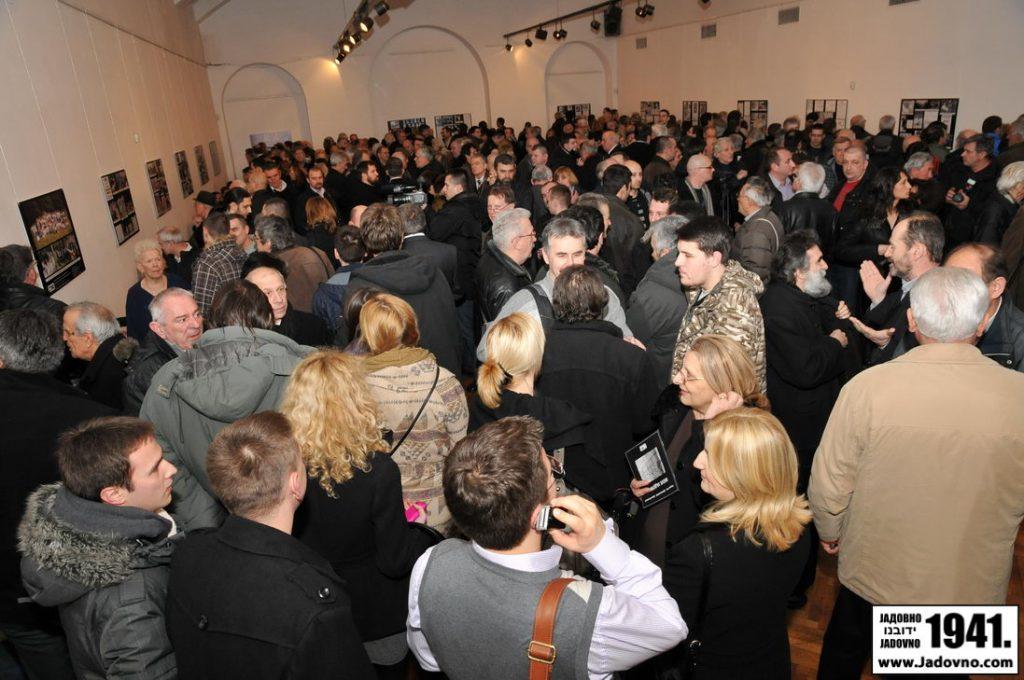 Izložba Moje Jadovno u Ruskom domu u Beogradu
