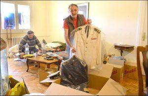 Rajčević pakuje uniformu