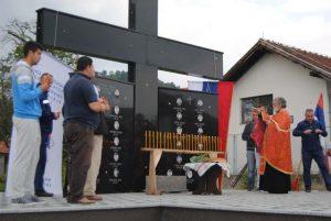 У насељу Челопек код Зворника откривен је данас Споменик за 25 бораца Војске Републике Српске, који су погинули у одбрамбено-отаџбинском рату