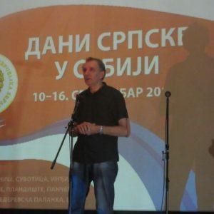 "Autor dokumentarnog  filma ""Sarajevski egzodus - tri tačke na mir"" Dragan Elčić"