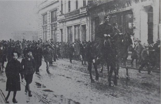 Dunavska divizija u Zagrebu 1918. godine
