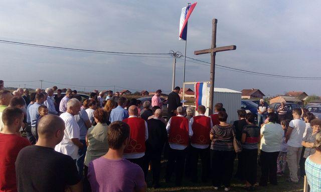 U Rovinama kod Gradiške danas je obilježana 21. godišnjica egzodusa srpskog stanovništva sa područja Donjeg Vakufa - Srbobaran