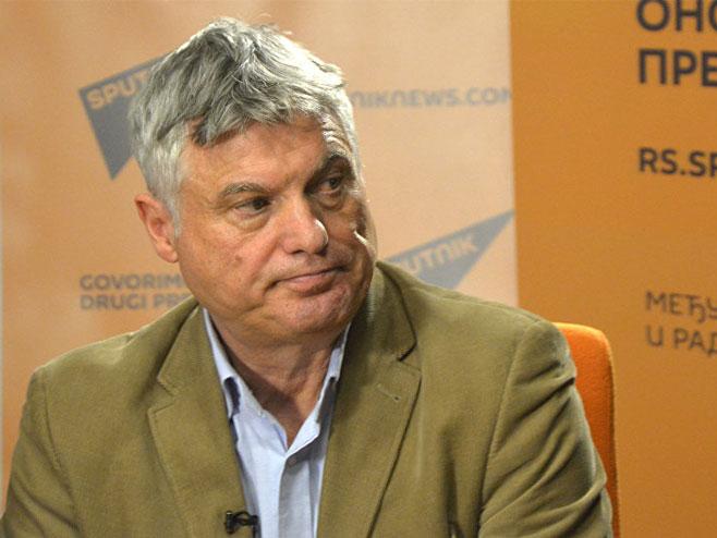 Miroslav Lazanski (Foto: Sputnik/Aleksandar Milačić)