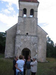 Crkva Svete Petke u mjestu Pribudić kod Zrmalje
