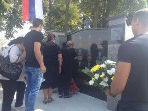 U Agincima kod Kozarske Dubice danas je otkriveno i osveštano spomen-obilježje za 12 boraca iz ove mjesne zajednice koji su poginuli u odbrambeno-otadžbinskom ratu