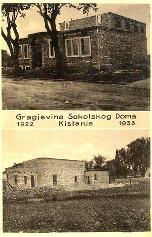 Sokolski dom Kistanje