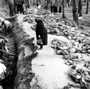 Uskočka šuma - ekshumacija