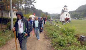 Sa prošlogodišnjeg marša na Ozrenu