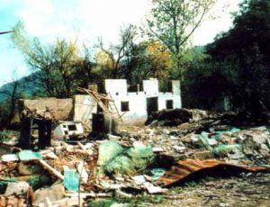 Princip ''spržene zemlje'' - Medački džep poslije napada hrvatske vojske