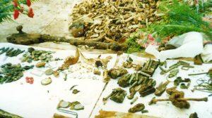 Kosti nevino pstradalih Srba iz Prebilovaca