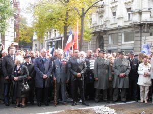 Memorijalnim defileom, polaganjem vijenaca, otkrivanjem ploče sa imenima ulica u Beogradu obilježene su 72 godine od oslobođenja Beograda u Drugom svjetskom ratu
