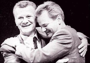 Ivan Stambolić i Slobodan Milošević