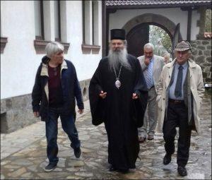 Matija Bećković posetio manastir Gračanicu