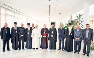 Dve delegacije razgovarale su u prostorijama Hrvatske biskupske konferencije (Foto Služba za informisanje HBK)