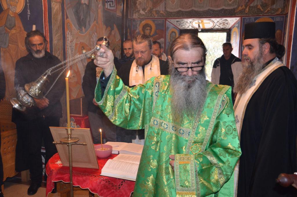 Parastos postaradalim braniocima ćivota Svetog Vasilija Ostroškog i Tvrdoškog