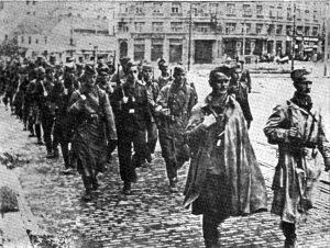 Partizanske jedinice ulaze u Beograd