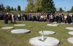 Na Dječijem groblju u Sisku služen je parastos povodom Dana sjećanja na stradanje oko 2.000 srpske ratne siročadi koja su u tom gradu bila zatočena od avgusta 1942. do januara 1943. godine
