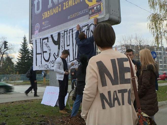 Banjaluka-protest protiv NATO-a