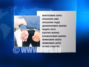Uhapšeni u Orašju