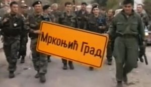 Хрватска војска у Мркоњић Граду