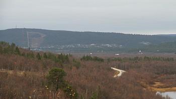 Karašok kako se danas vidi sa Finlandsveiena 3-4 km od naselja. FOTOGRAFIJA: Marte Lindi