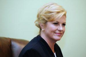 Predsednica Hrvatske Kolinda Grabar-Kitarović