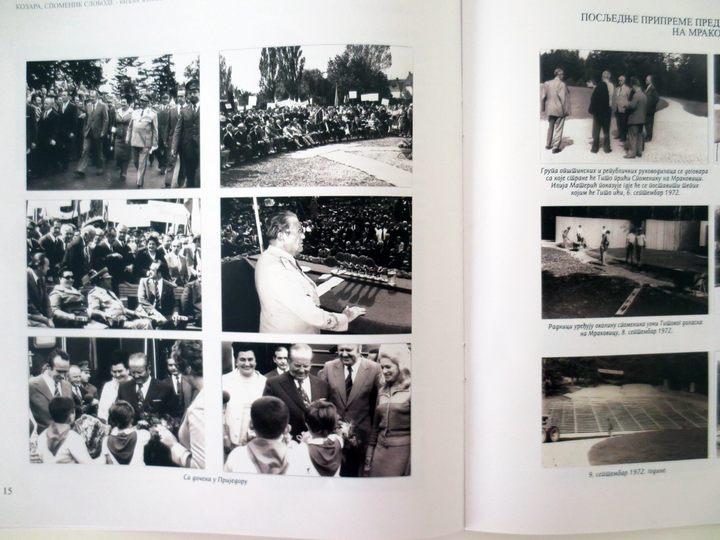 """Publikacija """"Kozara, spomenik slobode"""" Memorijalnog muzeja na Mrakovici i Nacionalnog parka Kozara"""