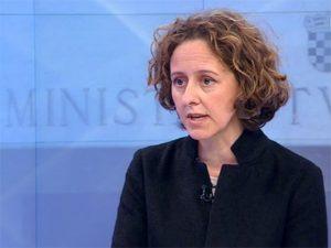 Nina Obuljen Koržinek (Foto: Screenshot/HRT)