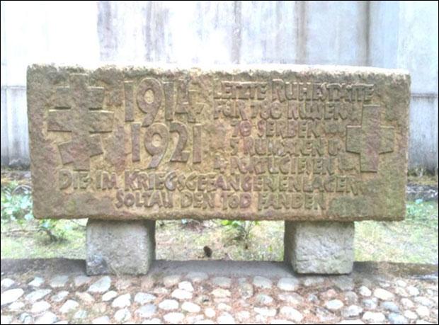 foto: О споменику руским и спским помрлим ратним заробљеницима из I. светског рата на гробљу у гарду Хамелн, стара се немачка Управа гробља