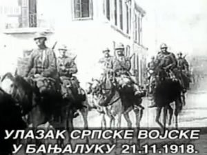 Ulazak srpske vojske u Banjaluku 21.11.1918. god Foto: RTRS