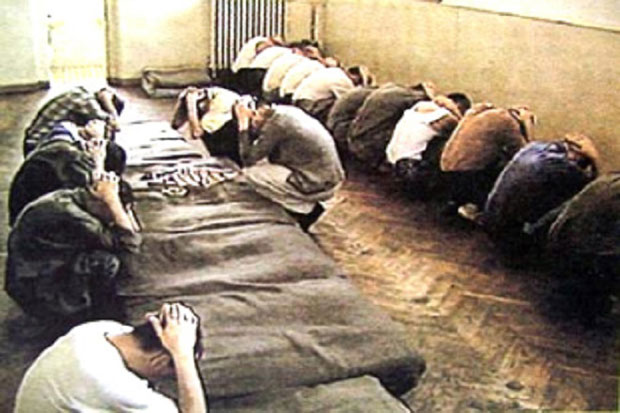 Zarobljeni Srbi u Lori