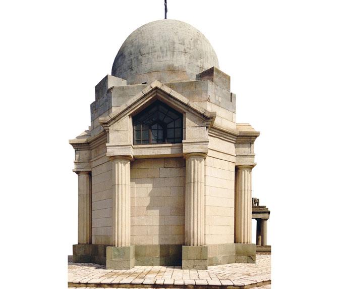 Капела на аустроугарском војном гробљу, подигнута 1918. године (Фото: Урош Богдановић)