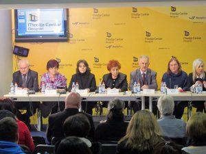 Beograd: Dan nestalih - konferencija  Foto: SRNA