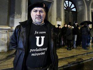 Миса задушница за Анту Павелића (Boris Kovačev / CROPIX)